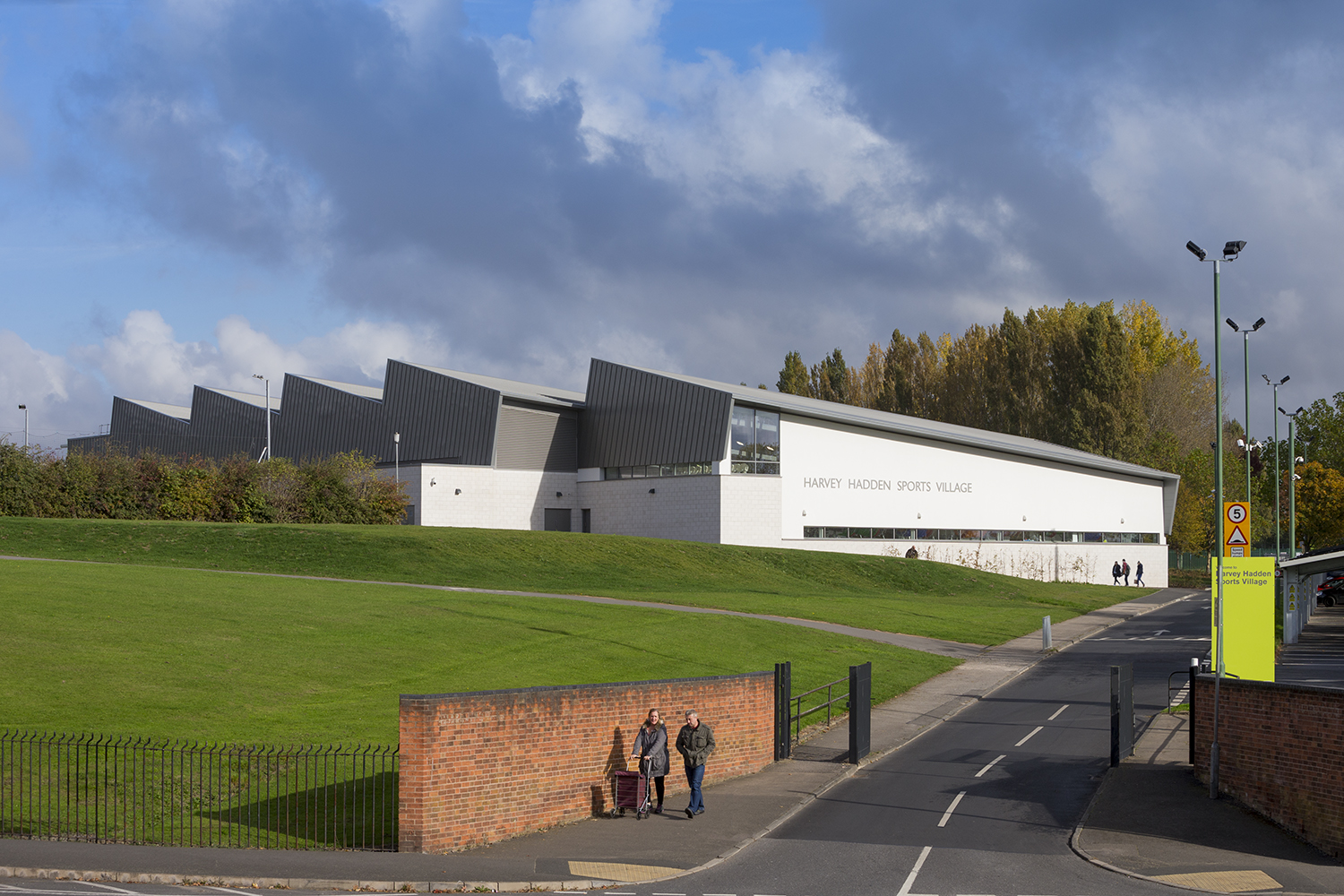 Harvey Hadden Sports Village Nottingham Furness Partnership