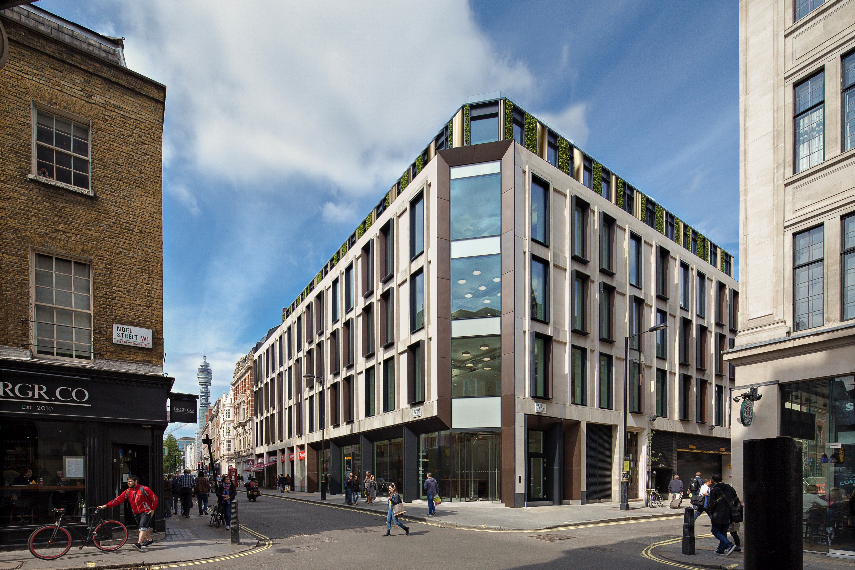Ampersand redevelopment furness partnership Ampersand london