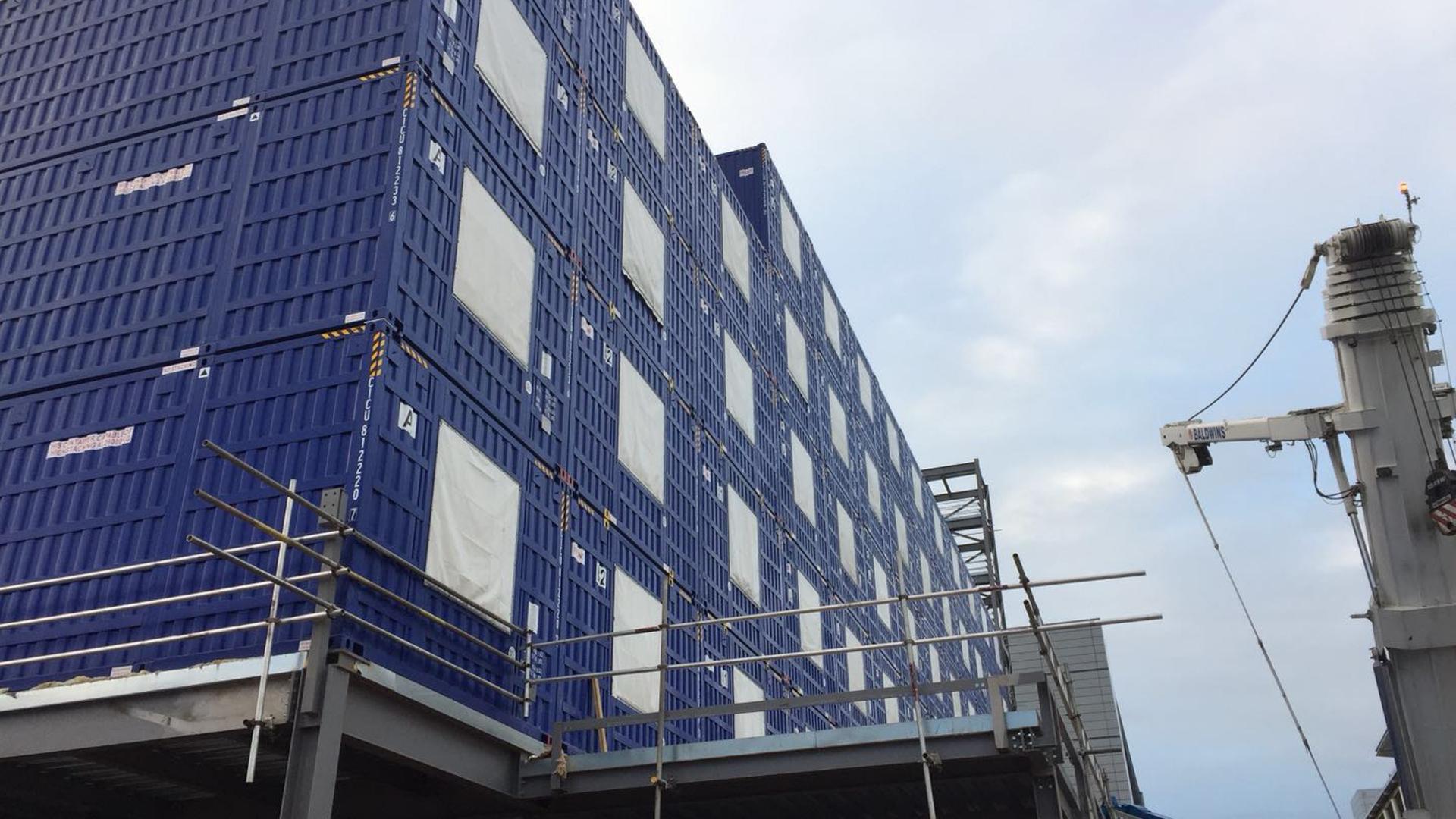 HGI Birmingham containers
